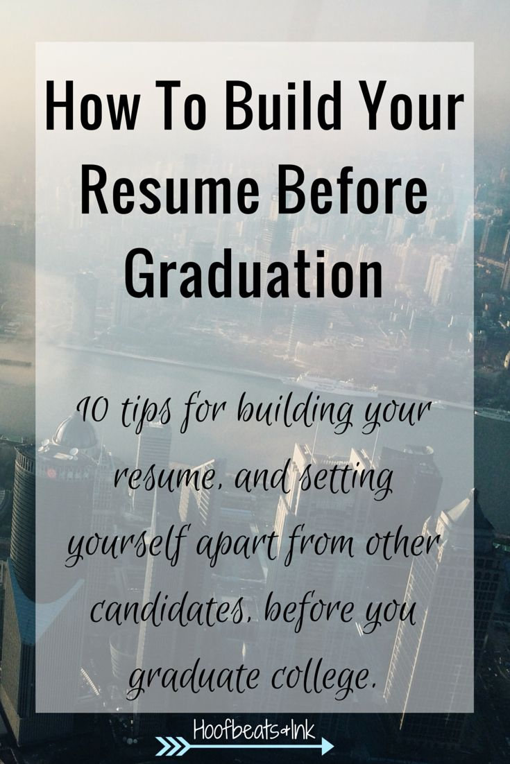 Building Your Resume: Resume Tips for College Students